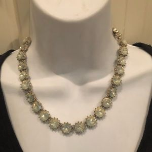 Loft beautiful bluish crystal necklace